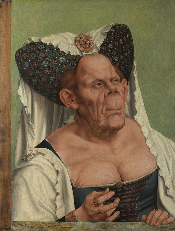 Quinten Massys An Old Woman 1513