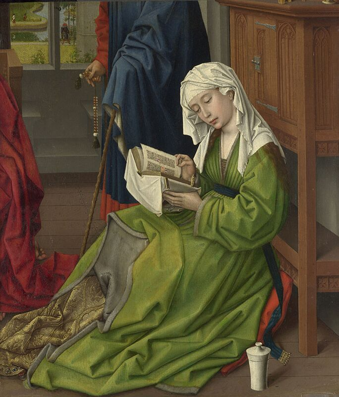 Rogier van der Weyden the Magdalen Reading 1438