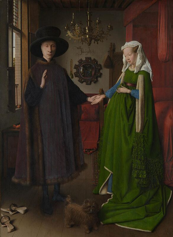 Jan van Eyck The Arnolfini Portrait 1434